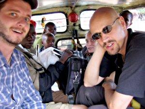 Inside a matatu