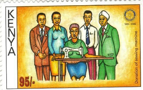 Kenyan Postage Stamp