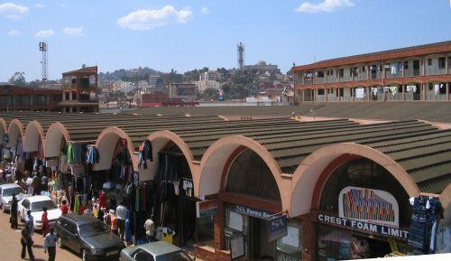 [Kampala sky line]