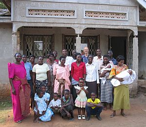[Family pose]