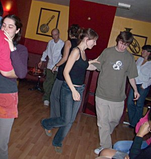 Dancing at l'haricot rouge